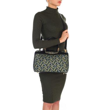 Женская сумка из замши с плечевым ремешком Gilda Tonelli
