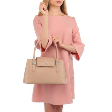 Женская классическая сумка с длинными ручками Chatte