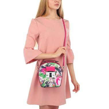 Женская сумочка с ярким принтом Cromia