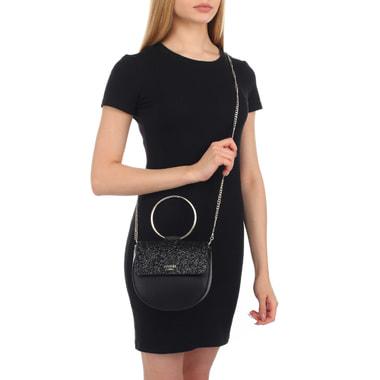 Женская сумочка с глиттером Guess