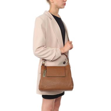 Женская кожаная сумка со съемным плечевым ремешком Ripani