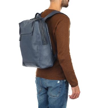 Деловой мужской рюкзак из кожи Piquadro