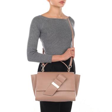 Женская сумка-трапеция с плечевым ремешком Blumarine