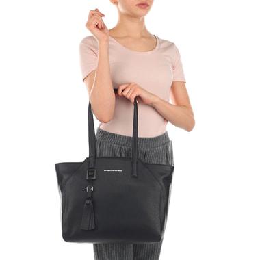 Женская кожаная сумка с отделением для ноутбука Piquadro