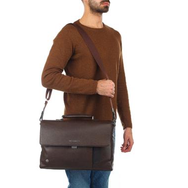 Мужской портфель из натуральной кожи Piquadro