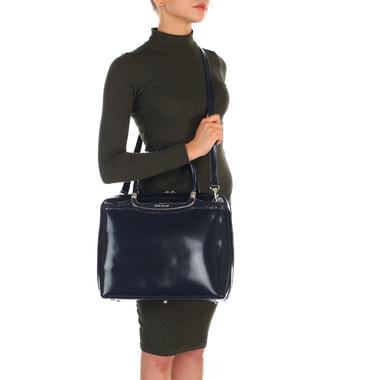 Женская кожаная сумка с плечевым ремешком Gilda Tonelli