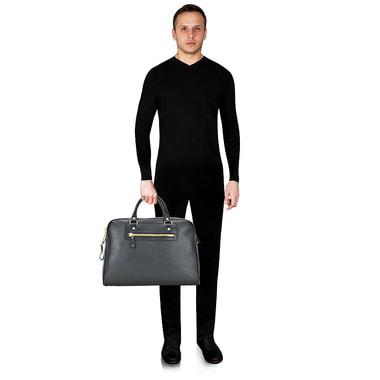Мужская кожаная сумка дорожная Tonelli