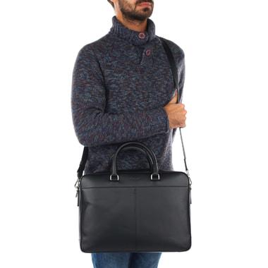 Мужская кожаная сумка для документов Michael Kors Men