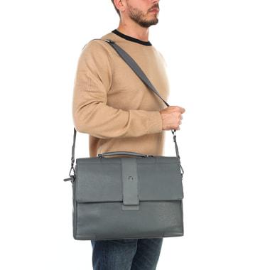 Портфель с клапаном для ноутбука Piquadro