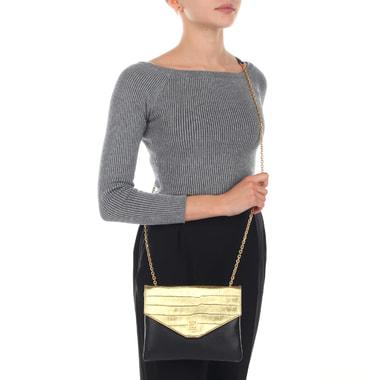 Маленькая кожаная сумка через плечо Coccinelle