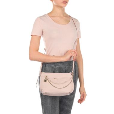 Женская кожаная сумочка с декором Marina Creazioni