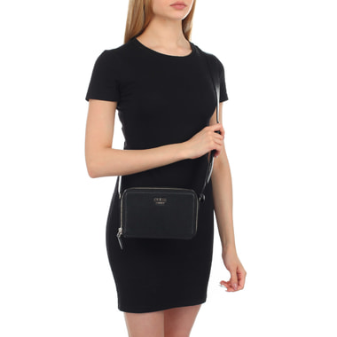 Женская сумочка на молнии с двумя отделами Guess