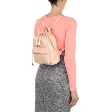 Женский рюкзак из металлизированной кожи Chatte