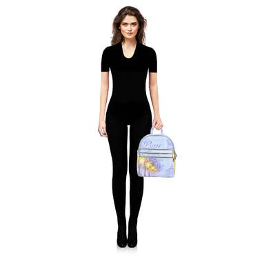 Женский кожаный рюкзак Acquanegra