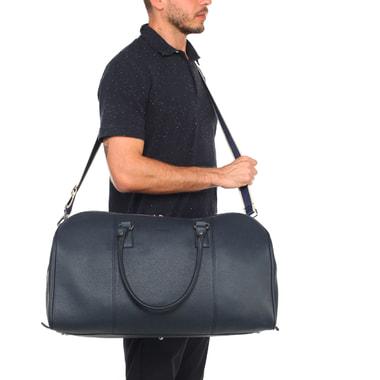 Кожаная дорожная сумка с плечевым ремнем Stevens