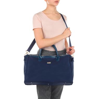 Дорожная сумка синего цвета Aurelli