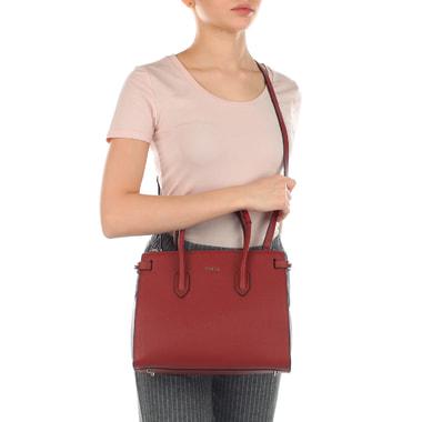 Женская классическая сумка из натуральной кожи Furla