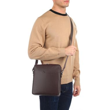 Мужская сумка-планшет из натурального сафьяна Lancaster