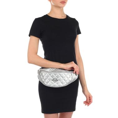 Женская поясная сумка на молнии Love Moschino