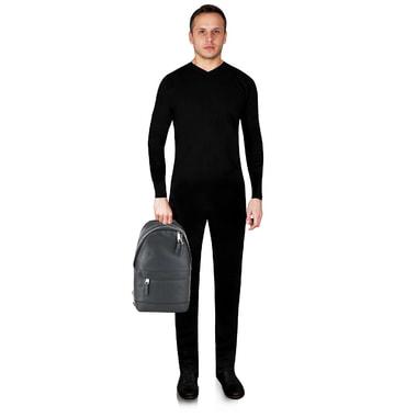 Мужской кожаный рюкзак Michael Kors Men
