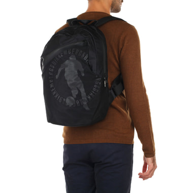 Мужской черный рюкзак Bikkembergs
