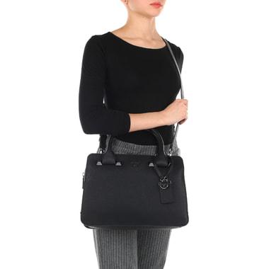 Женская вместительная сумка с тремя отделами Guess