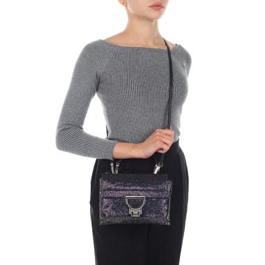 Маленькая женская сумка с двумя отделами Coccinelle
