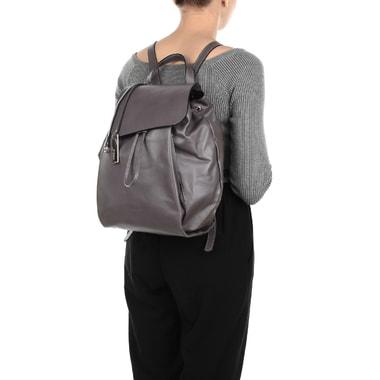 Женский кожаный рюкзак с откидным клапаном Ripani