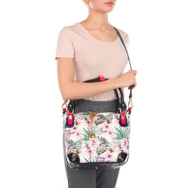 Женская сумочка с цветочным принтом Marino Orlandi