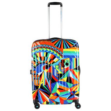 4-х колесный чемодан с принтом American Tourister