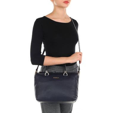 Женская кожаная сумка с плечевым ремешком Coccinelle