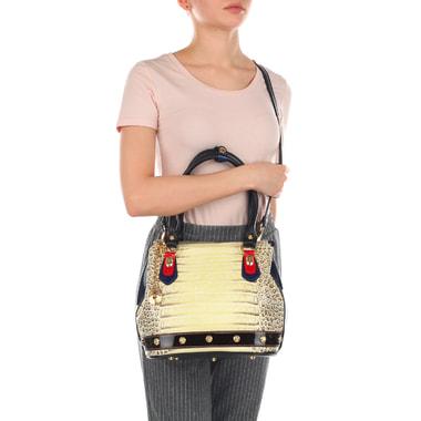 Женская сумочка с ручками и плечевым ремешком Marino Orlandi