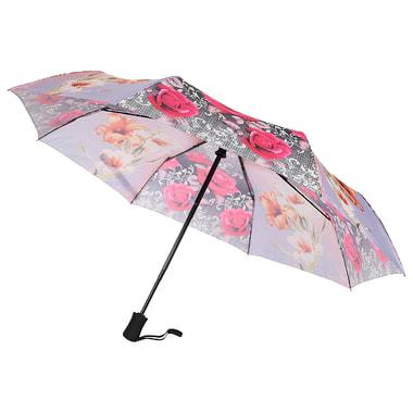 Складной зонт с цветным принтом Raindrops