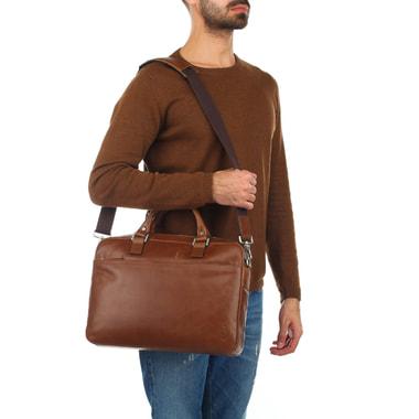 Мужская деловая сумка с отделом для ноутбука Picard