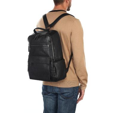 Кожаный рюкзак с отделением для ноутбука Piquadro