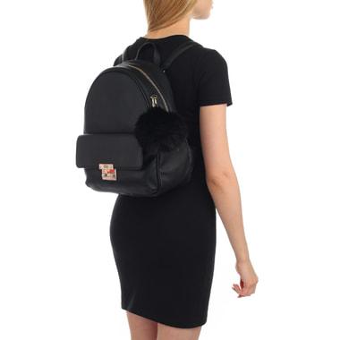 Женский черный рюкзак Guess