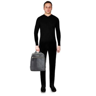 Мужской кожаный рюкзак Piquadro