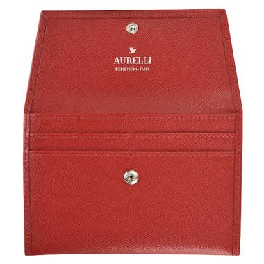 Кожаная обложка для паспорта и автодокументов Aurelli