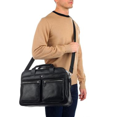 Мужская деловая сумка с двумя отделами Braun Buffel