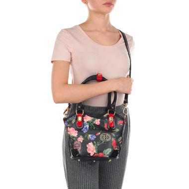 Женская сумочка из натуральной кожи с принтом Marino Orlandi