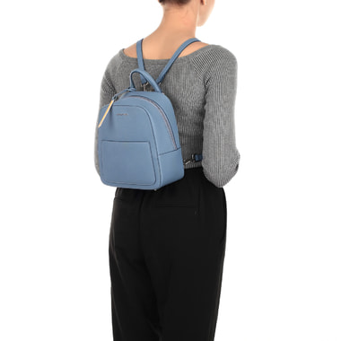 Маленький женский рюкзак из сафьяновой кожи Cromia