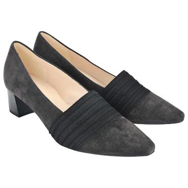 Женские замшевые туфли на низком каблуке Peter Kaiser