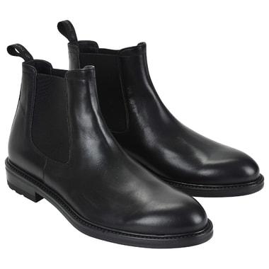 Мужские кожаные ботинки с эластичными вставками Dino Bigioni