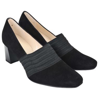 Женские замшевые туфли с эластичной вставкой Peter Kaiser