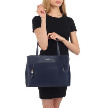Женская классическая сумка из натуральной кожи Aurelli
