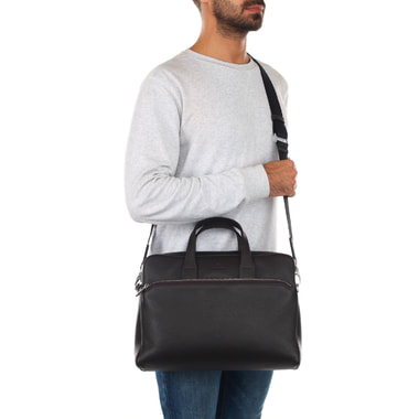 Мужская деловая сумка из натуральной кожи Mayrhoff