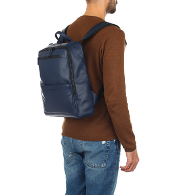 Мужской кожаный рюкзак с отделом для ноутбука Piquadro
