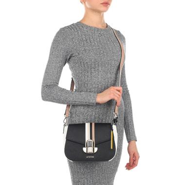 Компактная женская сумочка из сафьяна Cromia