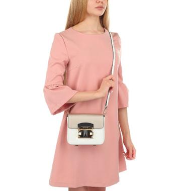 Женская сафьяновая сумочка с откидным клапаном Cromia