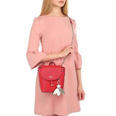 Красная женская сумочка Guess